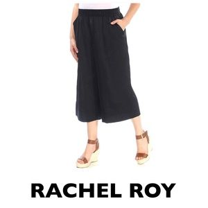 RACHEL ROY Black Cropped Pants Size Small